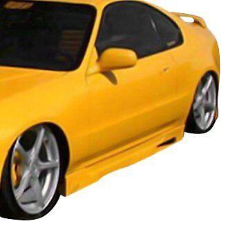 For Honda Prelude 97-01 Side Skirt Rocker Panels Type M Style Fiberglass Side