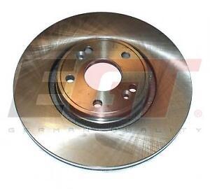 RENAULT-LAGUNA-2-x-BRAKE-DISCS-PAIR-German-Quality
