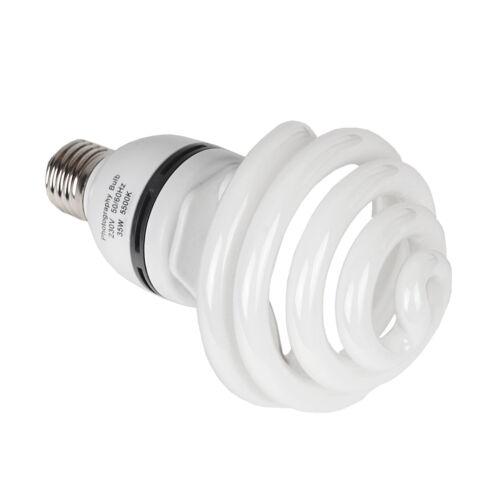 New Energy Saving Daylight 35W 5500K Balanced Bulb Studio Photography Video UK