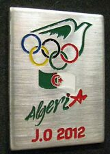 LONDON 2012 Olympic ALGERIA NOC Internal team - delegation dated pin