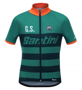 SHIRT SANTINI KID GS blue size 7 YEARS