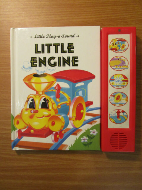 Little Engine Play-a-Sound- Anne Woodbury Moore- Publications International 1994