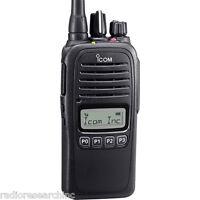 Icom F2000s Limited Keypad Lcd Uhf 400-470mhz Radio Battery Antenna Waterproof