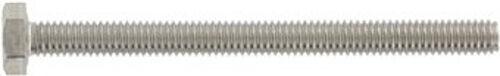 DIN 933 Sechskantschrauben Vollgewinde M45 - M52 Edelstahl A2 A4 diverse Längen