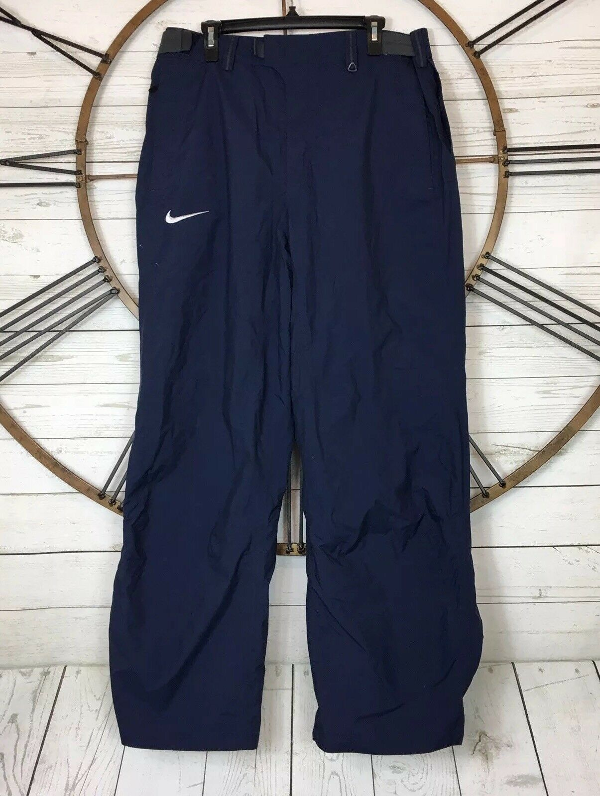 NIKE Snowboarding Snow Pants bluee Nylon Size XXL Lined