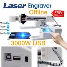 3000mw Diy Mini Adjustable Laser Engraving Cutting Machine Desktop Printer