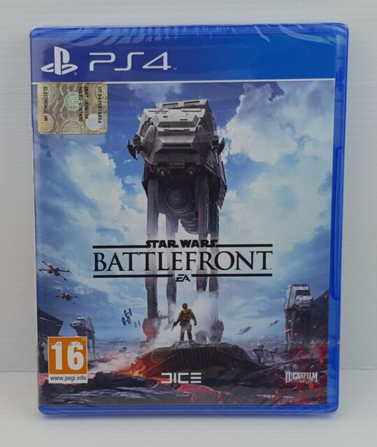 STAR WARS BATTLEFRONT - PS4 - PlayStation 4 - PAL - NUOVO FACTORY SEALED