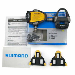 Shimano-105-PD-R7000-Carbon-SPD-SL-Road-Bike-Bicycle-Pedals-Set-w-SM-SH11-New