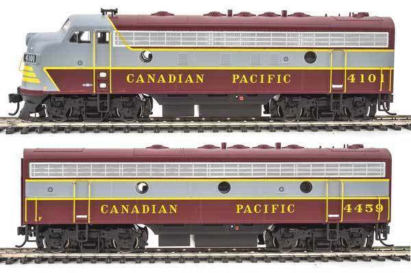 Walthers den canadian pacific cp   41014459 emd f7a-b set dcc - ho - skala