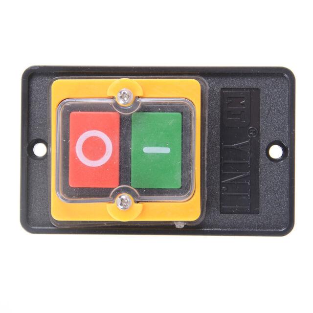 10A 380V KAO-5 WaterProof ON/OFF Push Button Motor Machine Drill Switch zp