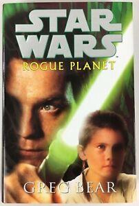 Star-Wars-Rogue-Planet-by-Greg-Bear-2000-Hardback-Book-Brand-New-Rare