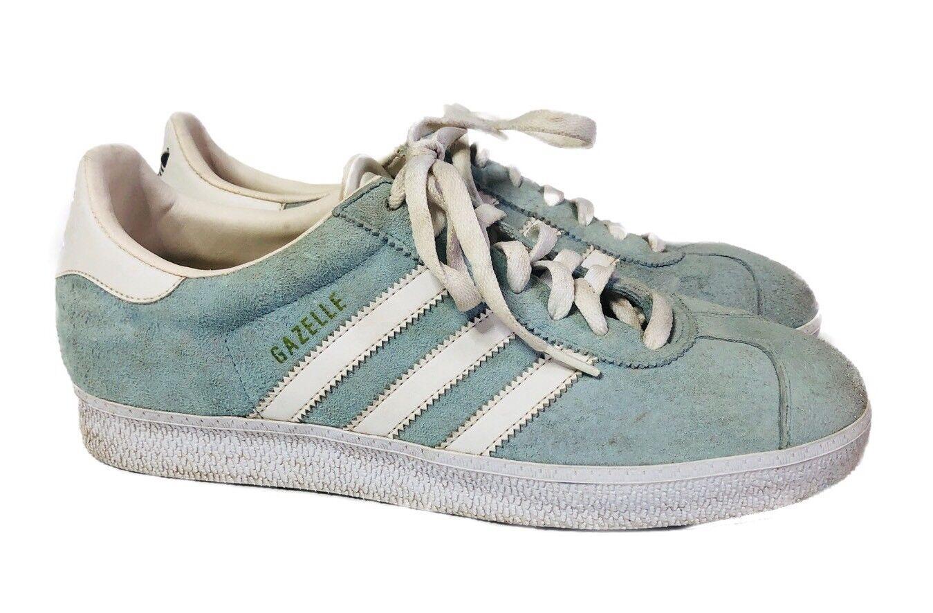 Adidas Gazelle indoor Hombre Soccer / Shoes Sneakers Light Azul / Soccer Verde de 10,5 m salvaje de zapatos casuales 6bb52f