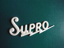 Supro Amp Logo White