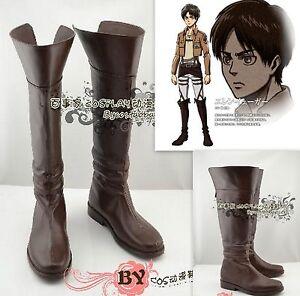 Cosplay-Shingeki-no-Kyojin-Attack-on-Titan-Eren-Jaeger-zapatos-botas