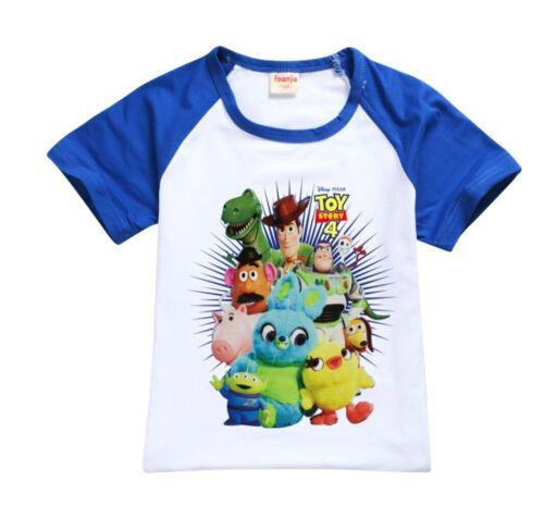 BNWT Toy Story T-Shirt Top boys kids children cartoon Tshirt new