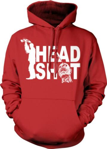 Headshot Zombie Killing Walker Crossbow Dead Scary Hunting Hoodie Pullover