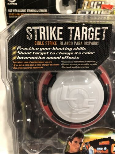 Details about  /WOWWEE LIGHT STRIKE COLOR CHANGING TARGET 3404 W// SOUND EFFECTS NEW IN PKG