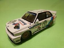 MINICHAMPS 2000 BMW M3 EVOLUTION E30 - HEGER No 11 - VOGELSANG - WHITE 1:43 - GC