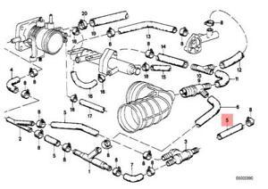 genuine bmw 114 e28 e3 e36 e38 e39 master cylinder brake hose oem E36 325Is Red image is loading genuine bmw 114 e28 e3 e36 e38 e39