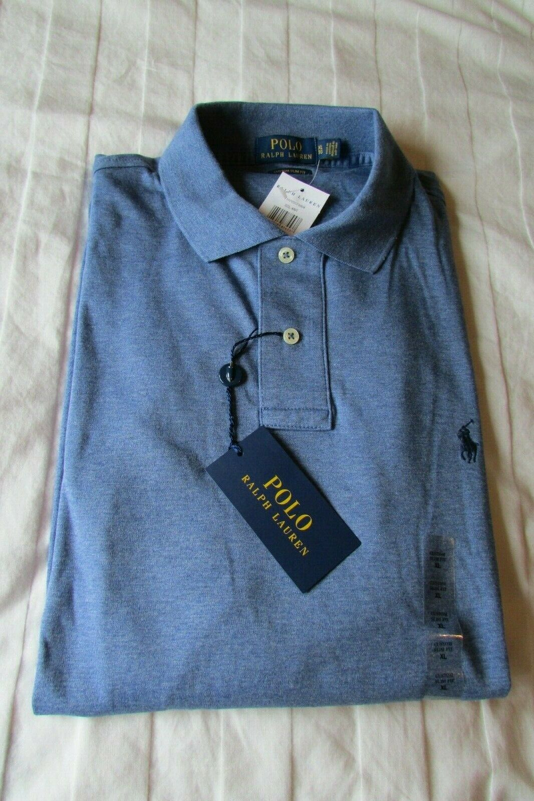 RALPH LAUREN POLO SOFT TOUCH blueE T SHIRT SIZE XL NEW WITH TAGS RRP