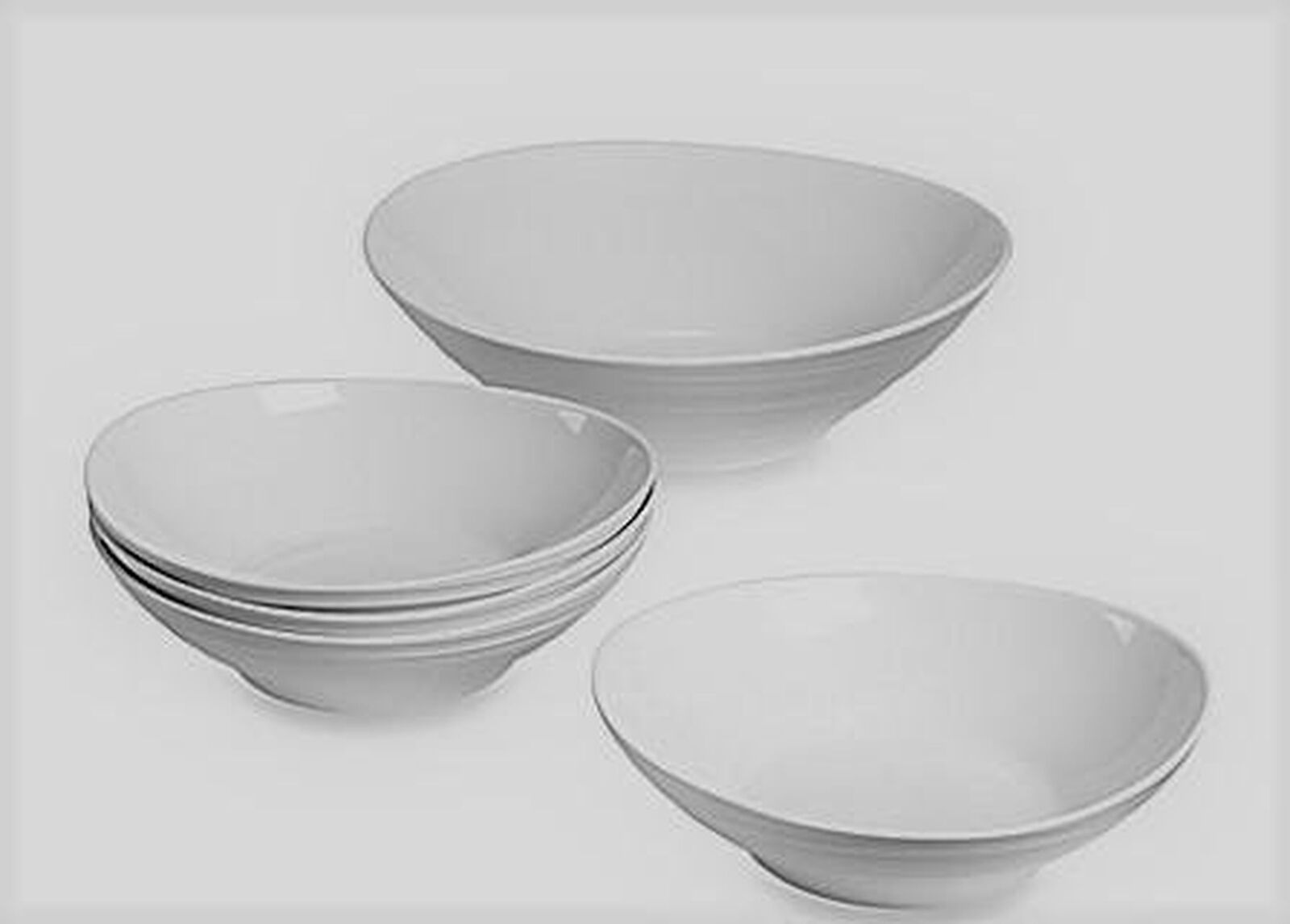 Mikasa Swirl 5 pièces Pasta Set Blanc