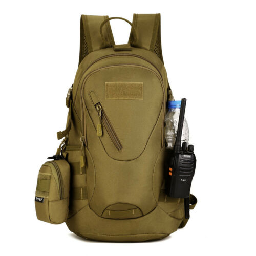 Military MOLLE Backpack Rucksack Gear Tactical Assault Packs Student School Bags