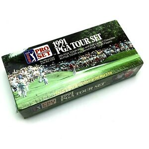 1991-PGA-Tour-Set-Complete-Golf-Cards-285-Photos-and-Stats-1-Collectible
