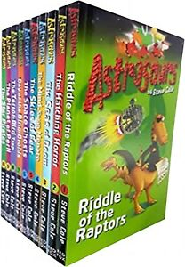 Steve-Cole-Astrosaurs-Series-Collection-10-Books-Set-Books-1-to-10