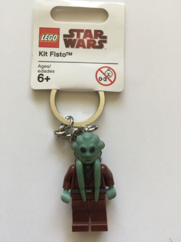 *NEW* LEGO Star Wars KIT FISTO Key Chain 852945