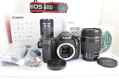 [MINT]Canon EOS 60D 18.0 MP Digital SLR Camera (Kit w/ EF-S IS 18-135mm Lens)