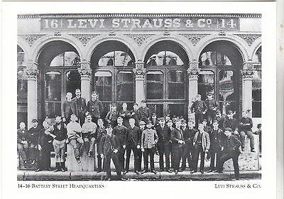 """+PC-Postcard-""""Levi Strauss Offices"""" -(Battery St Hdq's.)-*Levi Strauss & Co(#156"""