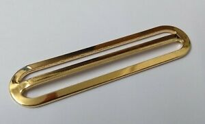 Genuine-British-Military-Issue-Brass-Stable-amp-Parade-Belt-Slider-Adjuster-STD9