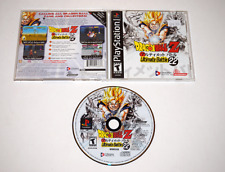 Dragon Ball Z Ultimate Battle 22 Sony Playstation PS1 Video Game Complete