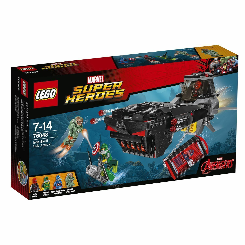 LEGO® Marvel Super Heroes 76048  U-Boot Überfall von Iron Skull  NEU OVP