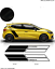 Stickers-Renault-trophy-R-Kit-Bandes-adhesif-decoration-N-2 miniatura 1