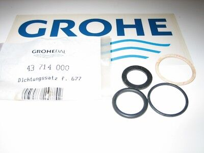 Replacement Seals O Ring For Flowmeter Grohe 43714000 4005176158742 Ebay