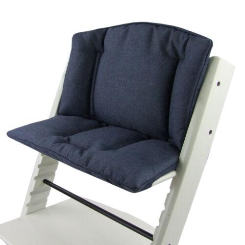 BAMBINIWELT Sitzkissen Sitzverkleinerer STOKKE Tripp Trapp MARINE meliert