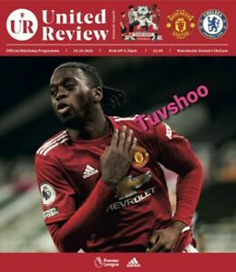 Manchester-United-v-Chelsea-PREMIER-LEAGUE-VERY-LIMITED-Programme-24-10-2020