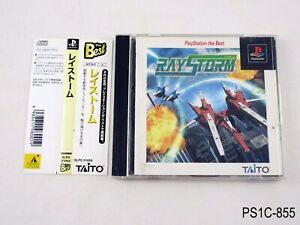Raystorm-Best-Playstation-1-Japanese-Import-PS1-Taito-PS-Japan-JP-US-Seller-C