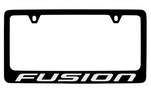 Ford Fusion Black Metal license Plate Frame Holder