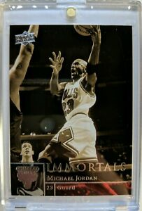 2009-09-10-UPPER-DECK-IMMORTALS-Michael-Jordan-241-Bulls-HOF