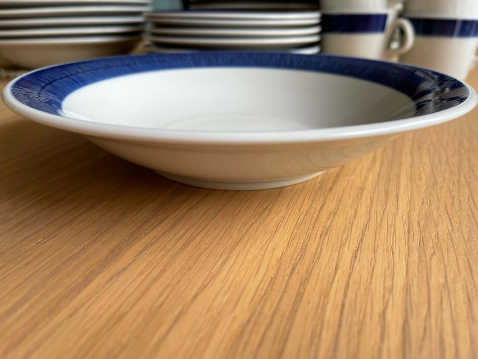 Porcelæn, RØRSTRAND, BLÅ KOKA