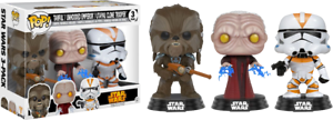 Tarful-Unhooded-Emperor-amp-Utapeau-Clone-Star-Wars-Funko-Pop-Vinyls-New-in-Box