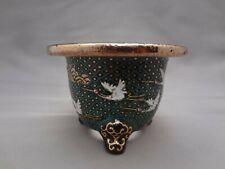 Shigaraki yaki Ceramic Bonsai pot Deep Yikiwari Snow Kannyu H11cm Made in Japan