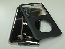 New iPod 6th 6.5 7th Gen Classic Black Front Faceplate 1TB Back Cover Housing