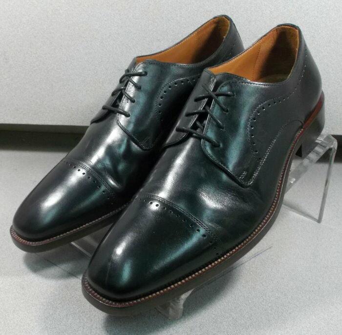 592541 FT50 Chaussures Hommes Taille 10 m Noir en Cuir à Lacets Johnston Murphy