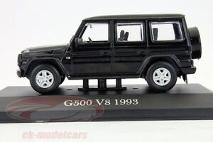 MERCEDES-Benz-G-500-V8-de-1993-echelle-1-43-Voitures-de-legende