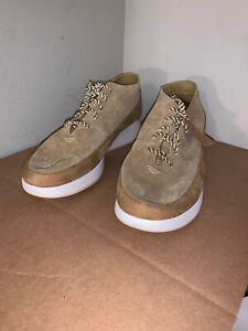 Mens Clarks Originals Kiowa Pace Trainers White Combi Casual Shoes