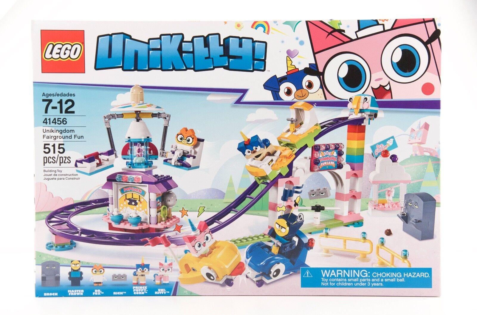 Lego, 41456, UNIKITTY, Unikingdom Fairground Fun, 515 PCS, NIB, Ages 7+