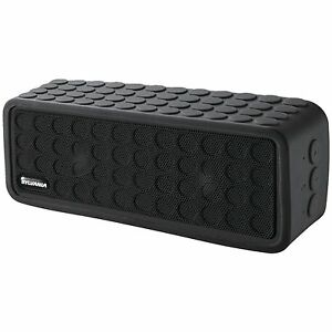 Sylvania SP258-BLACK Rugged Bluetooth Portable Speaker